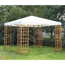 Homemade Gazebo Roof by Distinctive Wooden Canopy For 10x10 Gazebo Design Home Ideas