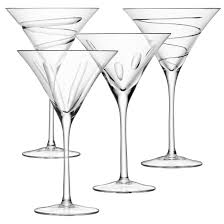 cocktail drawing lsa charleston set of 4 cocktail glasses drinking glassware