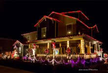 lighted outdoor displays decor inspirations