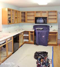 How To Reface Cabinets Kitchen Cabinet Makeover Reveal