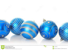 blue ornaments royalty free stock photography image