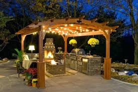 outdoor kitchen lighting ideas patio landscape lighting outdoor lighting backyard landscape