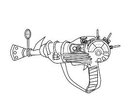 Drawn Gun Ray Gun Pencil And In Color Drawn Gun Ray Gun Call Of Duty Black Ops Coloring Pages