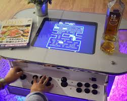 Ms Pacman Cocktail Table Dual Arcade Coffee Table Diy Arcade Machine Coffee Table Source