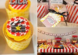 Birthday Decoration Ideas For Adults Kara U0027s Party Ideas Vintage Movie Boy Family Birthday