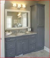 Redo Bathroom Vanity Bathroom Vanity With Tall Cabinet In Middle Tsc