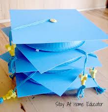 preschool graduation caps diy preschool graduation caps stay at home educator