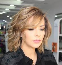 jagged layered bobs with curl 70 brightest medium length layered haircuts and hairstyles