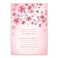 cherry blossom wedding invitations floral wedding invitations invitations by