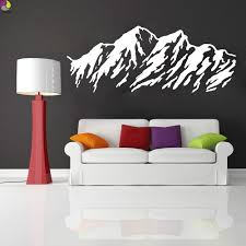 Wall Decal For Living Room Compare Prices On Mountain Wall Decal Online Shopping Buy Low