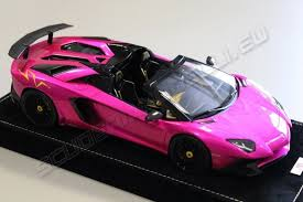 pink lamborghini aventador mr collection lamborghini aventador lp750 4 roadster sv pink