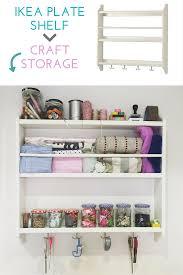 Ikea Shelf Hacks Craft Storage Quick Tricks Maison Bailey