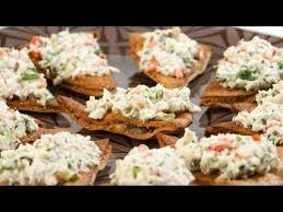 crab canapes crab canapes with cumin