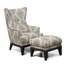Large Chair And Ottoman Design Ideas Chairs Stool Leather Wingback Chair With Ottoman Design Ideas In