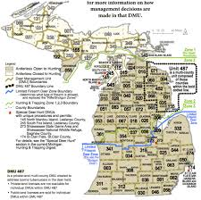 Map Of Ann Arbor Michigan Interactive Map Helps Dnr Inform Hunters About Deer Management