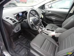 Ford Escape Ecoboost - charcoal black interior 2013 ford escape sel 2 0l ecoboost photo