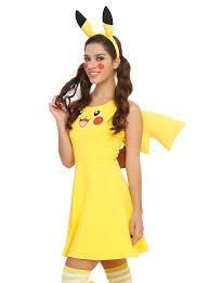 Pikachu Halloween Costume Men Pokemon Pikachu Tail U0026 Ears Costume Kit Topic