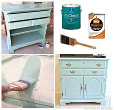 what type of paint finish to use on kitchen cabinets tips for painting furniture with enamel
