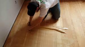 How To Clean Cracks Between Hardwood Floors How To Trowel Fill A Wood Floor Effectivly Youtube