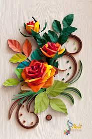 3303 best quilling kompozycje kwiatowe i roślinne images on