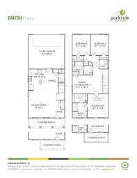 The Amery Floor Plan Bellevue Station Parkside Builders