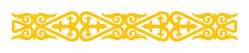 national symbols of kazakhstan by josh studl infographic