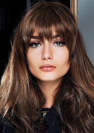 hair bangs short blunt square face found the best bangs for every face shape according to experts