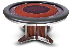 round poker table with dining top deluxe executive round poker table