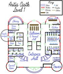 aritia castle floorplan lvl 1 by callistohime on deviantart