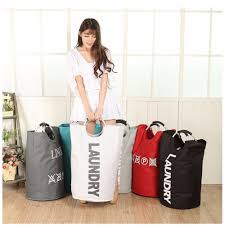 laundry hamper collapsible laundry bag for college cool heavy duty free standing canvas