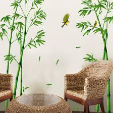 wall decal bamboos yellow birds home sticker paper removable wall decal bamboos yellow birds home sticker paper removable living dinning room bedroom kitchen art picture