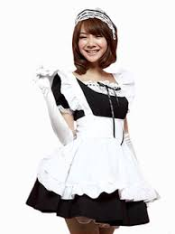 French Maid Halloween Costume Cheap Maid Costumes Halloween Milanoo