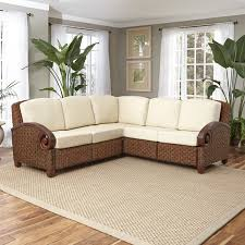 Rattan Curved Sofa by 100 Rattan Chair Cushions Small Space Living Room Outdoor