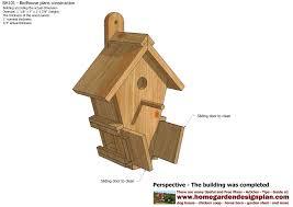 Construction House Plans Home Garden Plans Bh101 Bird House Plans Construction Bird