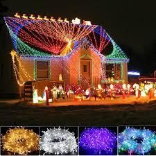 300 500 1000 led fairy string lights outdoor xmas garden halloween