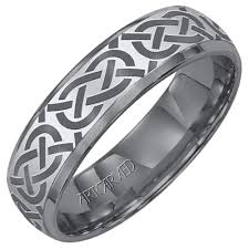 carved wedding band artcarved grecian mens carved wedding band in tungsten carbide 6mm