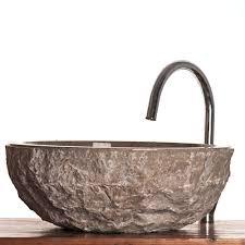 verona grey marble stone sink for bathrooms 40 cm wa066