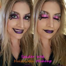 spider web halloween makeup u2013 almost her
