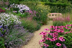 cute cottage garden plus rock backyard landscaping idea feat