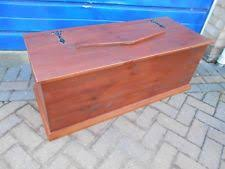pine storage box ebay