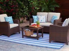 Patio Loveseats Martha Stewart Living Charlottetown Natural All Weather Wicker