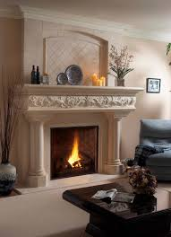 margaux lite cast mantel the of fireplace mantels