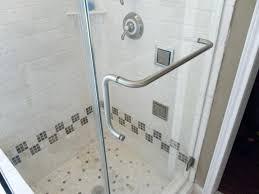 Shower Door Handle Height Sophisticated Shower Door Handles With Towel Bar Gallery Plan 3d