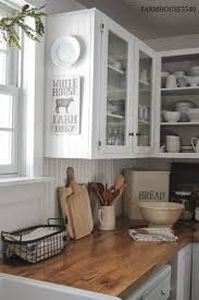 Ideas For A Farmhouse Inspired Kitchen On A BUDGET - Old farmhouse kitchen cabinets