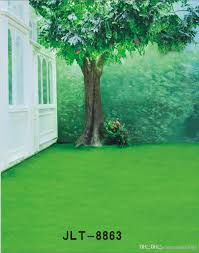 wedding backdrop grass outdoor green tree scenic wedding children vinyl photography