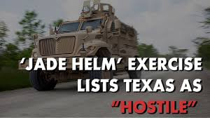 jade helm 15 military exercise lists texas as