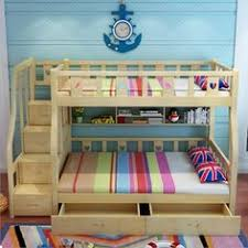 Three Sleeper Bunk Bed Trio Storage Three Sleeper Bunk Bed In Oak Single And 4ft Small