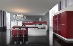 two tone kitchen cabinets white grey red decor crave loversiq