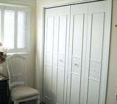 Closet Door Handle Bi Fold Closet Door Shaker Style Fir Doors Bifold Closet Door