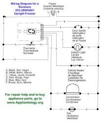 wiring diagram for a kenmore 253 28093801 upright freezer flickr